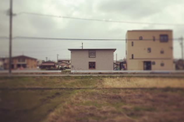 岐阜県 蔵前の家 足場解体 愛知県名古屋市 吉田夏雄建築設計事務所