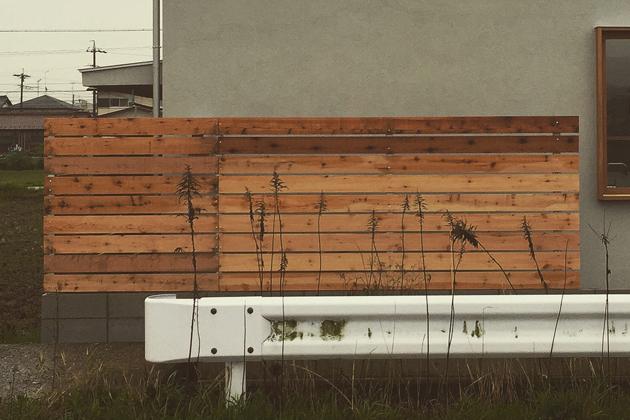 岐阜県 蔵前の家 木塀 愛知県名古屋市 吉田夏雄建築設計事務所
