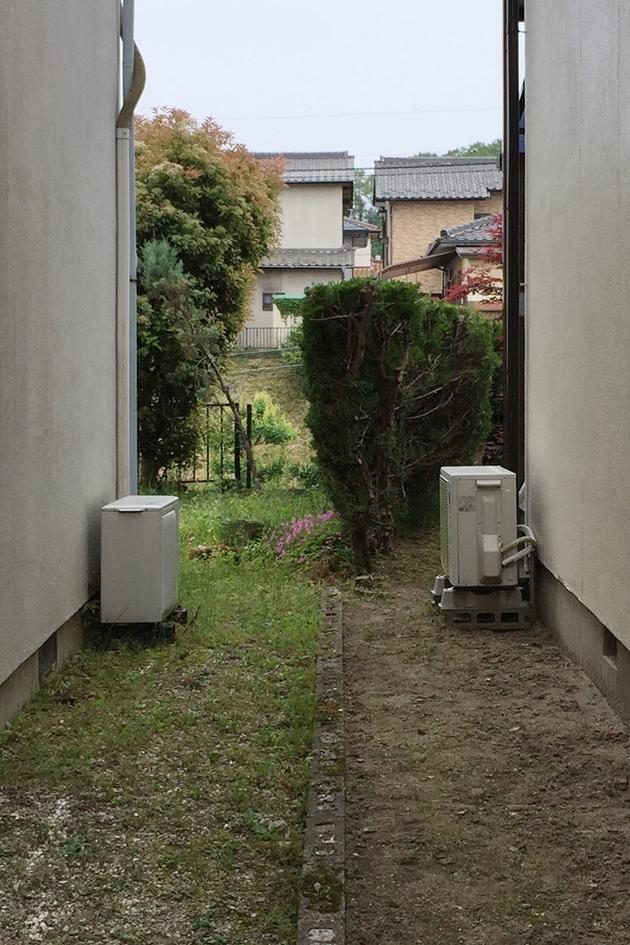 愛知県名古屋市 吉田夏雄建築設計事務所 境界と塀